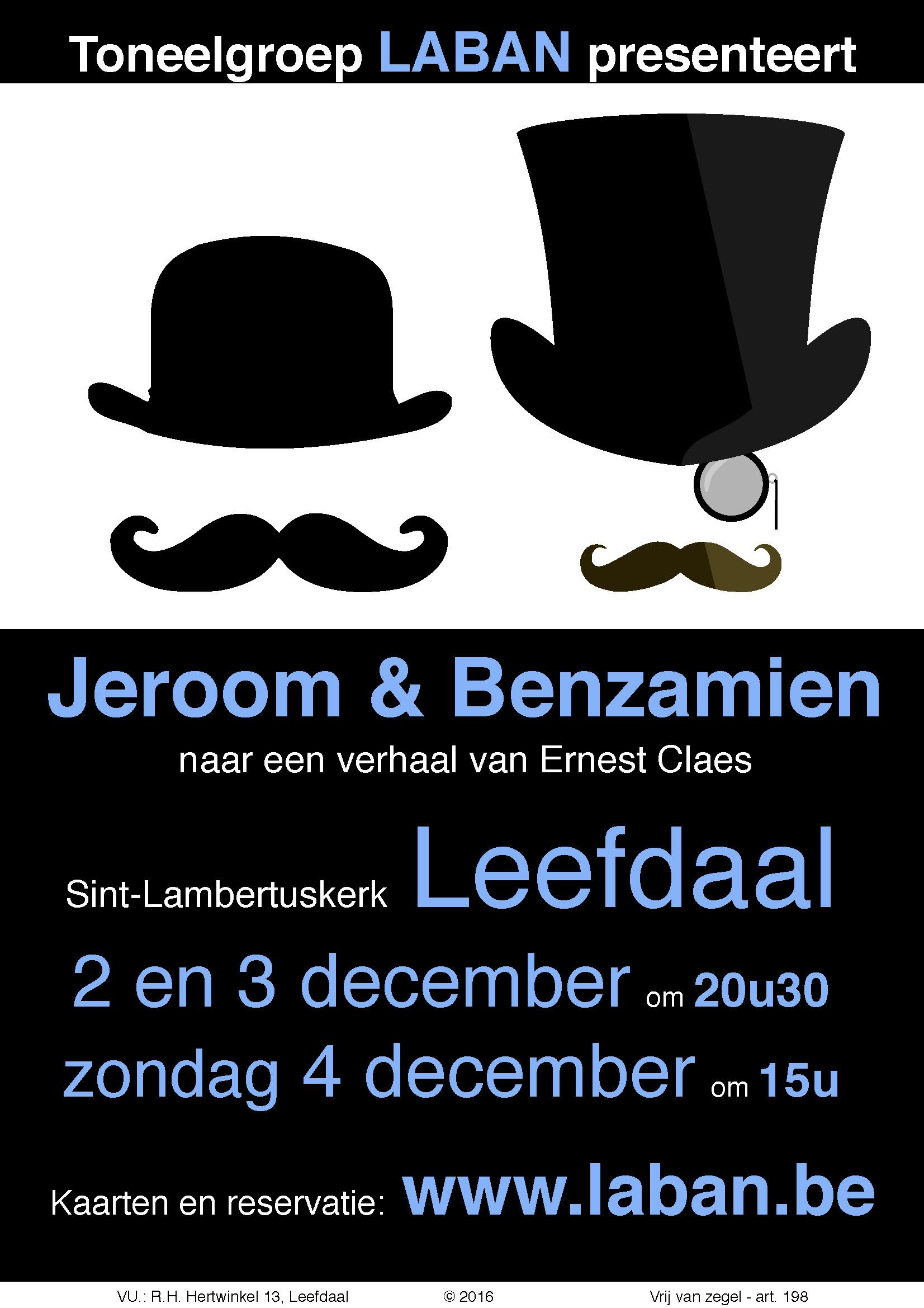 2016-jeroom-benzamien-affiche
